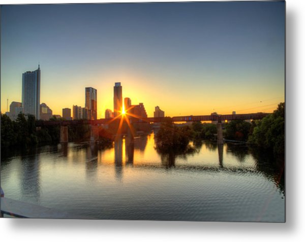 Austin Sunrise Metal Print