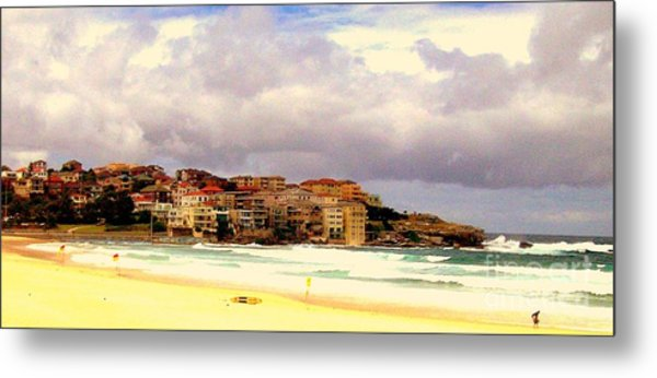 Australian Beach Scene Metal Print by John Potts