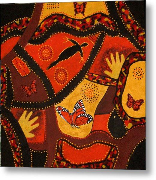 Australian Colours Metal Print by Susan McLean Gray
