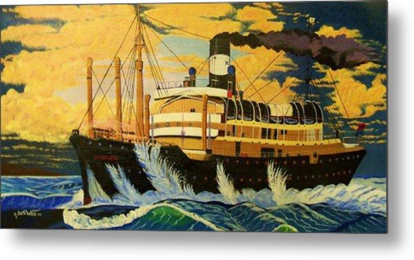 Australia's Titanic--the Ss Waratah Metal Print by Seth Wade