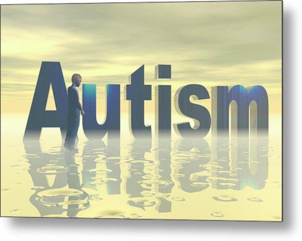 Autism Metal Print