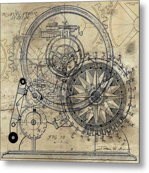 Autowheel II Metal Print