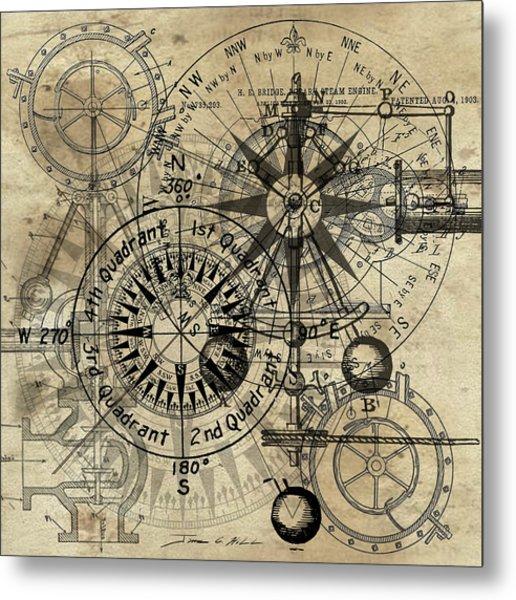 Autowheel IIi Metal Print