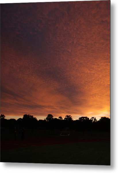 Autum Sunset Metal Print