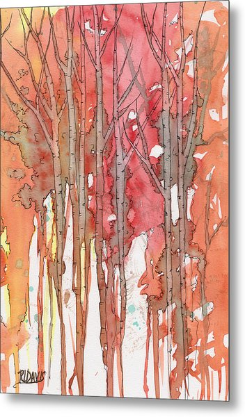 Autumn Abstract No.1 Metal Print