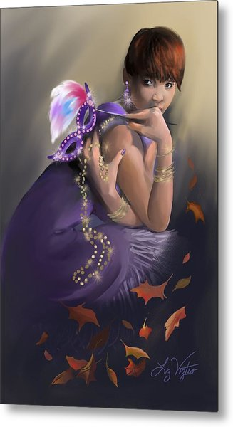 Autumn Allure Metal Print