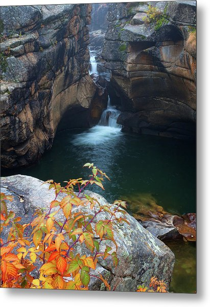 Autumn At The Grotto Metal Print