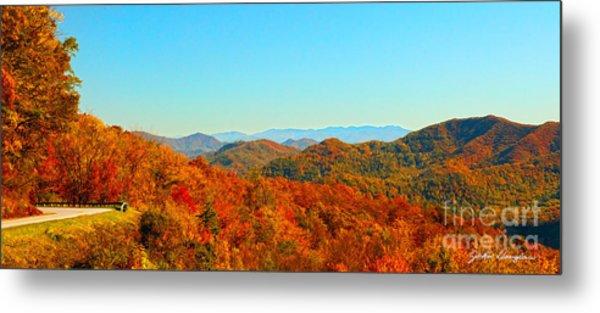 Autumn Blue Ridge Metal Print