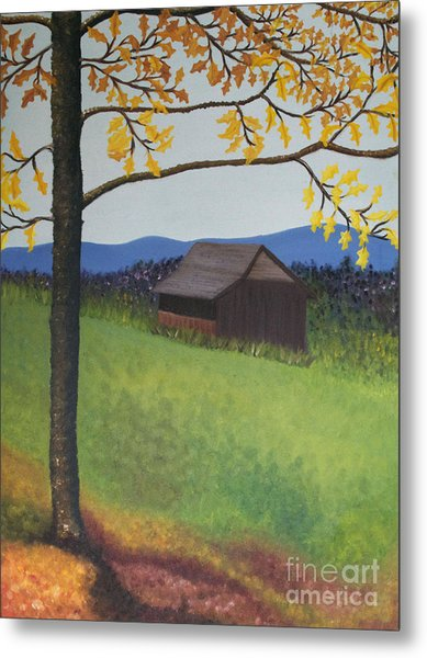 Autumn Metal Print by Cecilia Stevens
