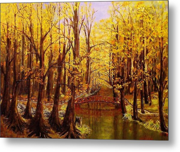 Autumn Cool Metal Print