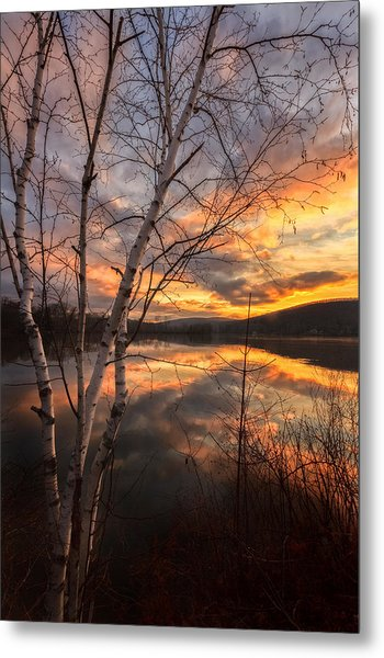 Autumn Dawn Metal Print