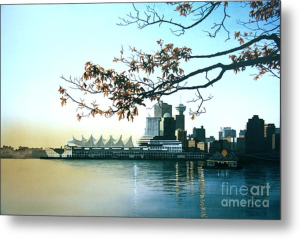 Autumn Daybreak Metal Print
