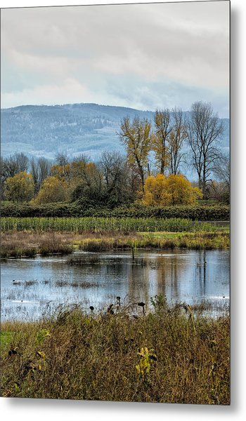 Autumn Haven Metal Print
