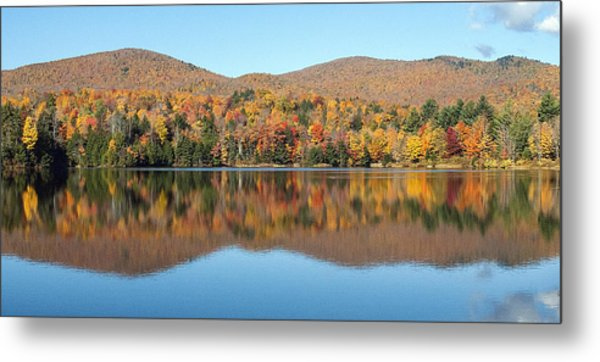 Autumn In Killington Vermont Metal Print by Bruce Neumann