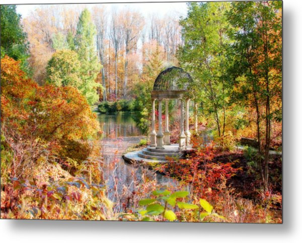 Autumn In Longwood Gardens Metal Print