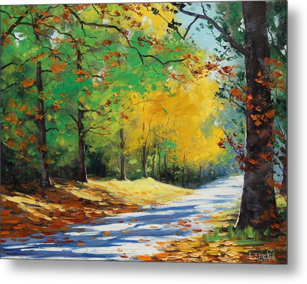 Autumn In Mt Wilson Metal Print