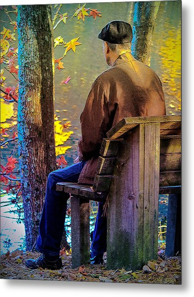 Autumn In Our Lives Metal Print