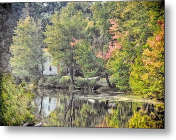 Autumn In Pastel Metal Print