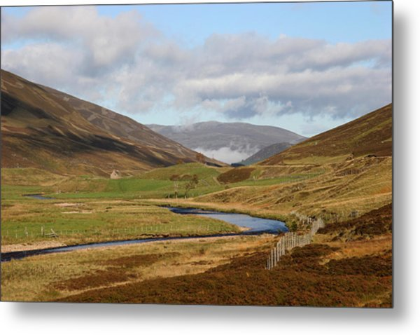 Autumn In The Cairngorms Metal Print