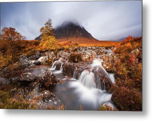 Autumn In The Glencoe Metal Print