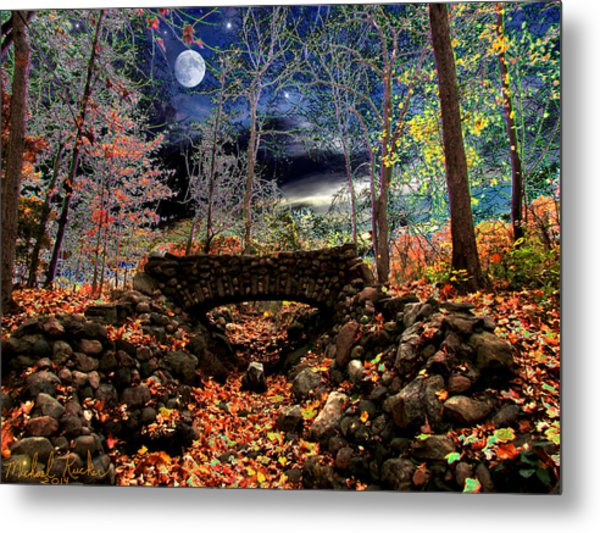 Autumn In The Meadow Metal Print