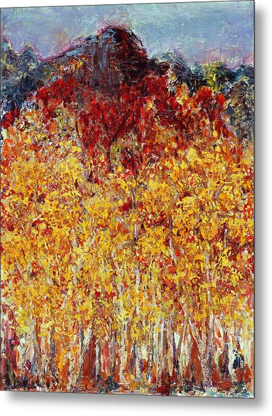 Autumn In The Pioneer Valley Metal Print
