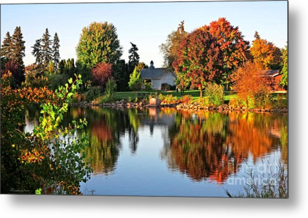 Autumn In Wisconsin Metal Print
