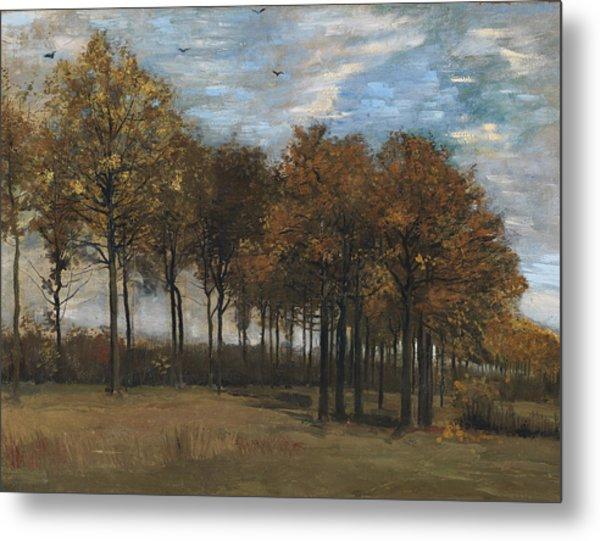 Autumn Landscape, C.1885 Metal Print