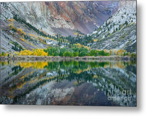 Autumn Mirror Metal Print