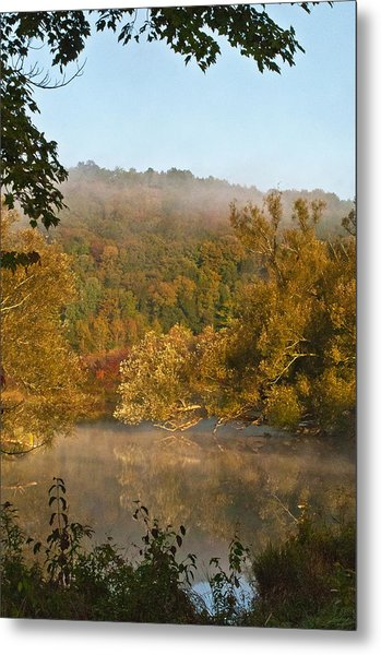 Autumn Morning In Coventry Metal Print