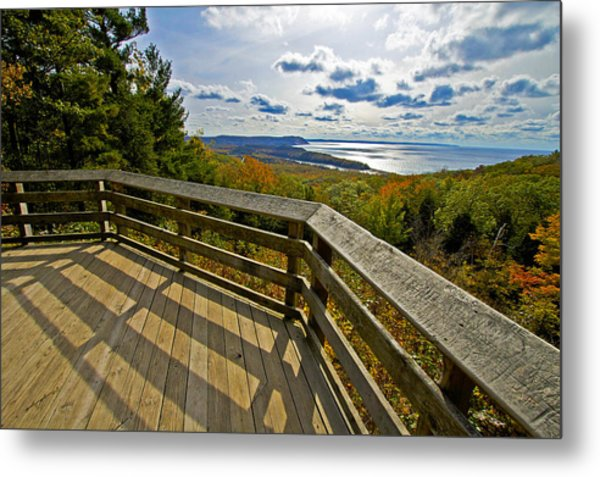 Autumn Overlook Metal Print
