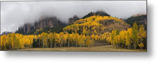 Autumn Panoramic Metal Print