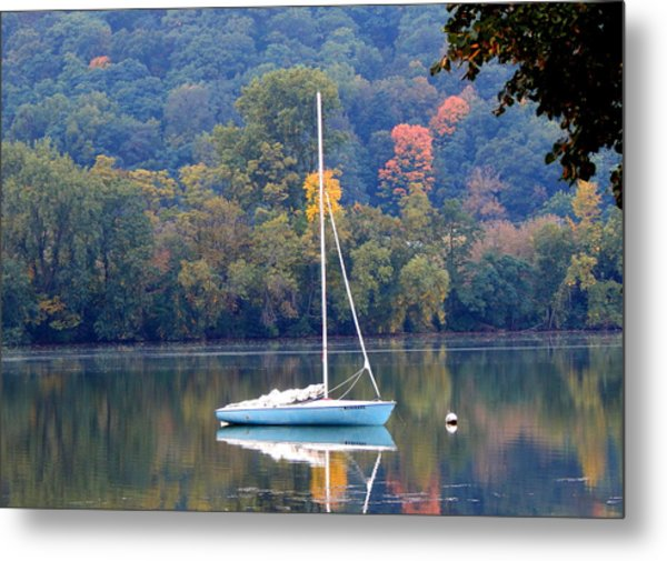 Autumn Sails Metal Print