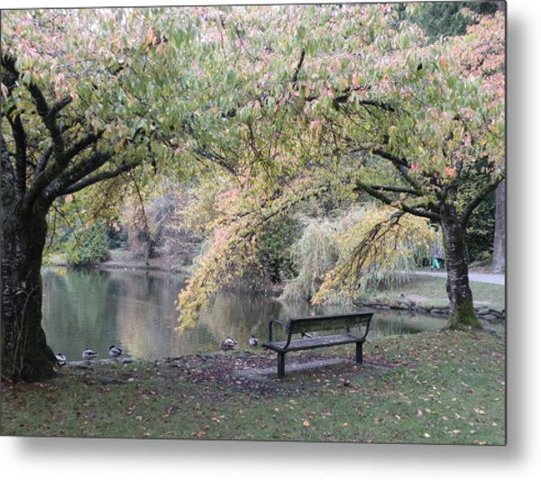 Autumn Serenity Metal Print