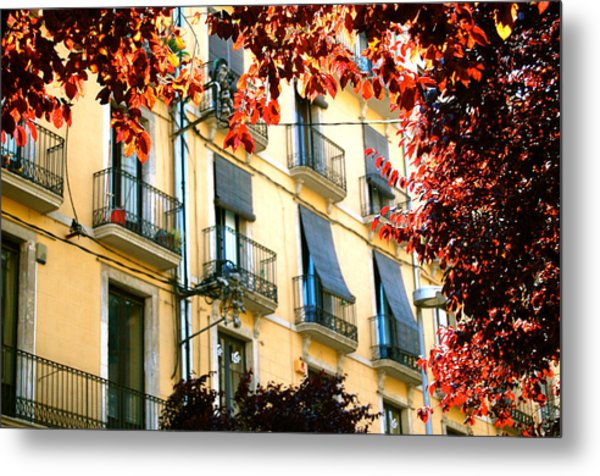 Metal Print featuring the photograph Autumn Spain by HweeYen Ong