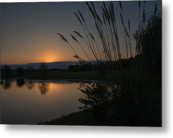 Metal Print featuring the photograph Autumn Tranquility by Darlene Bushue