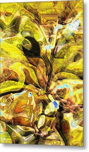 Autumn's Bones Metal Print