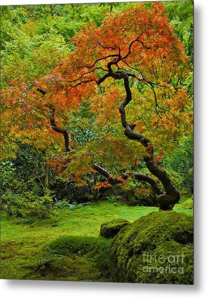 Autumn's Paintbrush Metal Print