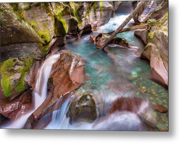 Avalanche Gorge 4 Of 4 Metal Print