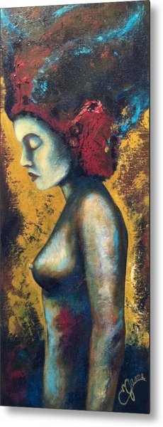 Avatar Metal Print by Estela Gama