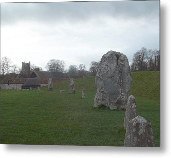 Avebury Stone Henge Metal Print