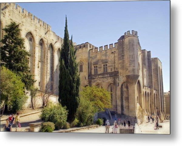 Avignon - Palais Des Papes Metal Print