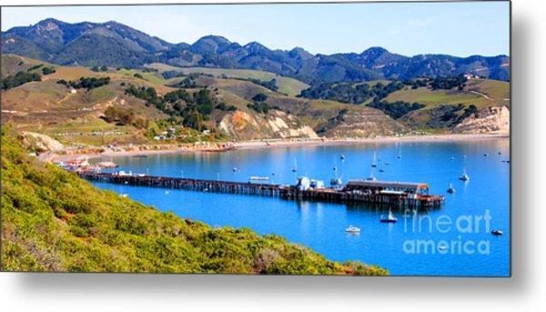 Avila Beach California Fishing Pier Metal Print