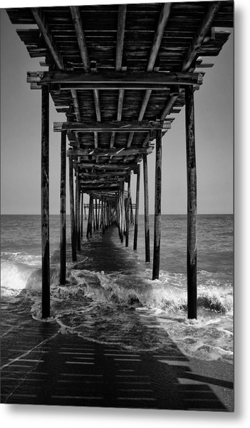 Avon Fishing Pier Metal Print