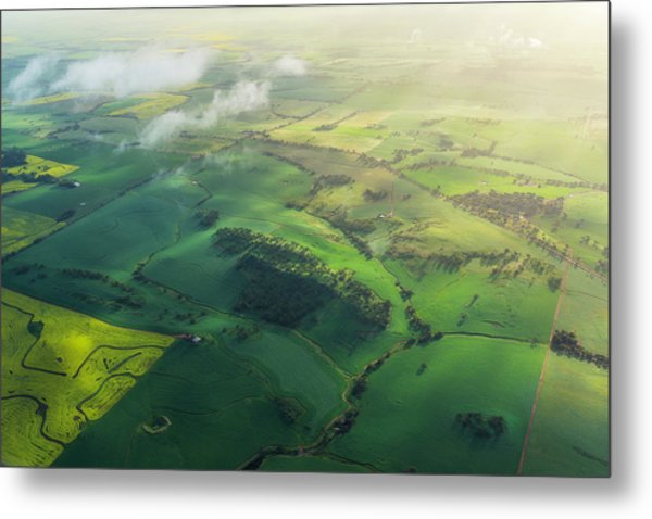 Avon Valley Metal Print by Neal Pritchard Photography