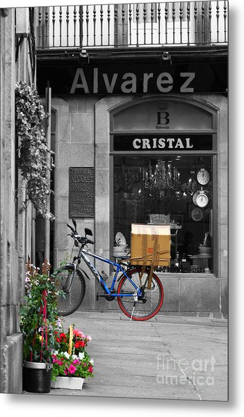 Awaiting Delivery Metal Print