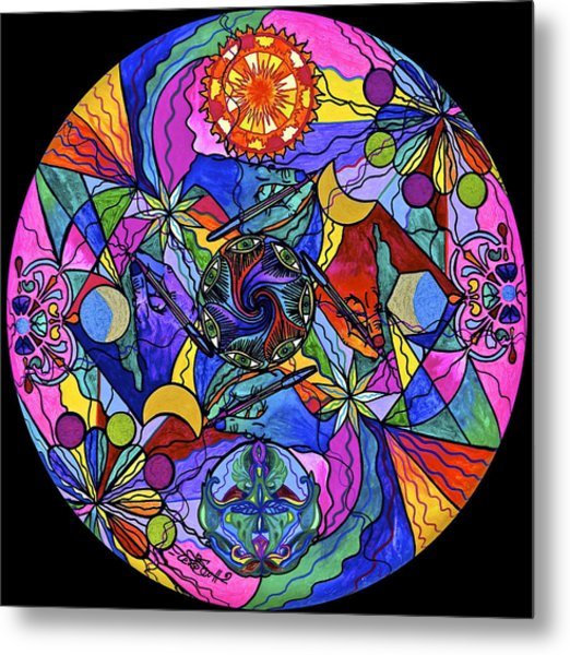 Awakened Poet Metal Print
