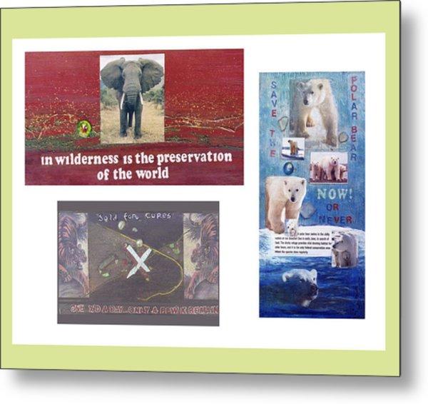Awareness Group  Metal Print