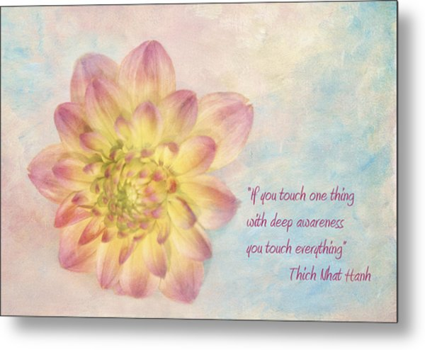 Awareness Metal Print