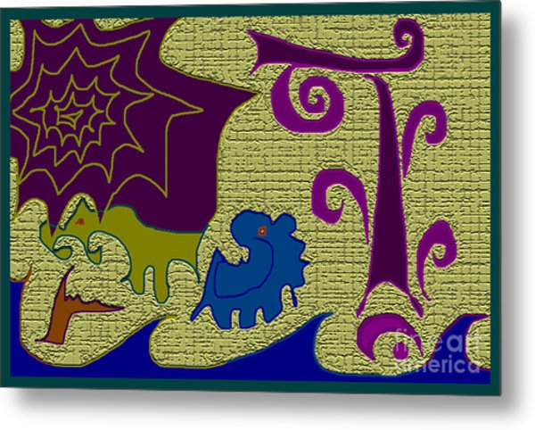 awe Metal Print by Meenal C